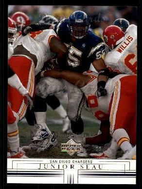 2001 Upper Deck #141  Junior Seau