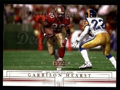 2001 Upper Deck #152  Garrison Hearst