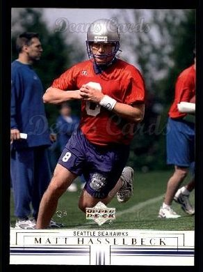 2001 Upper Deck #155  Matt Hasselbeck