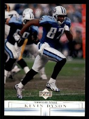 2001 Upper Deck #171  Kevin Dyson