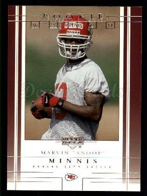 2001 Upper Deck #235  Snoop Minnis