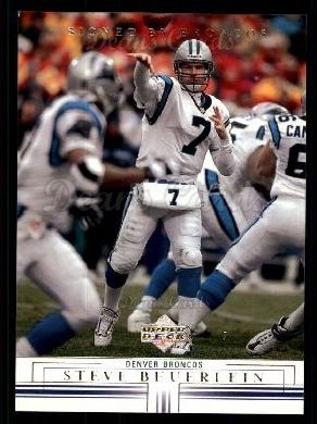 2001 Upper Deck #25  Steve Beuerlein