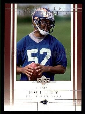 2001 Upper Deck #260  Tommy Polley