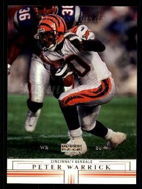 2001 Upper Deck #33  Peter Warrick