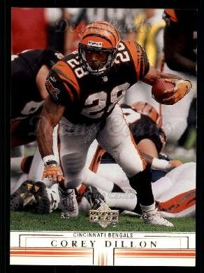 2001 Upper Deck #34  Corey Dillon