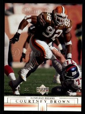 2001 Upper Deck #45  Courtney Brown