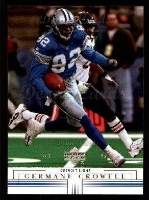 2001 Upper Deck #60  Germane Crowell