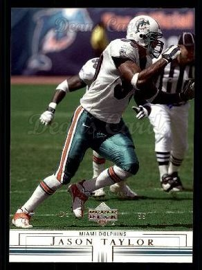 2001 Upper Deck #86  Jason Taylor