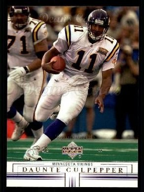 2001 Upper Deck #91  Daunte Culpepper
