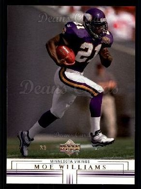 2001 Upper Deck #92  Moe Williams