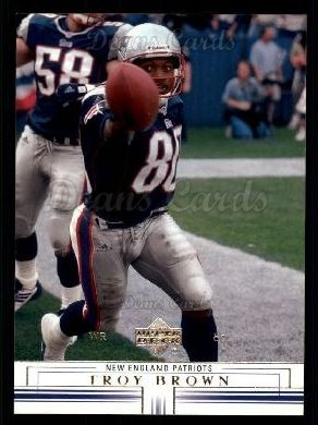 2001 Upper Deck #98  Troy Brown