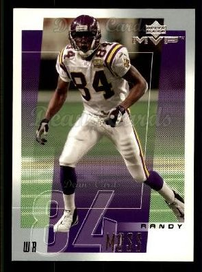 2001 Upper Deck MVP #140  Randy Moss