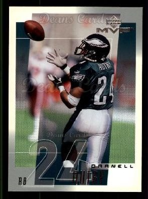2001 Upper Deck MVP #200  Darnell Autry