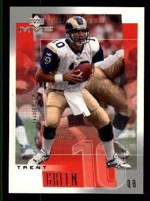 2001 Upper Deck MVP #221  Trent Green