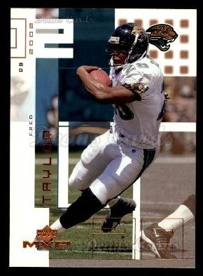 2002 Upper Deck MVP #111  Fred Taylor