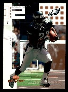 2002 Upper Deck MVP #180  Duce Staley