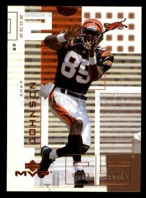 2002 Upper Deck MVP #52  Chad Johnson