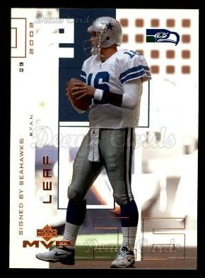 2002 Upper Deck MVP #68  Ryan Leaf