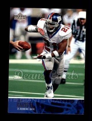 2003 Upper Deck #44  Tiki Barber