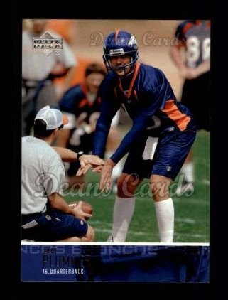 2003 Upper Deck #74  Jake Plummer