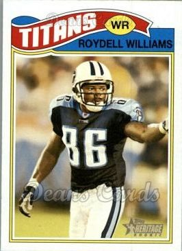 2005 Topps Heritage #294  Roydell Williams