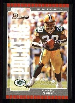 2005 Bowman #30  Ahman Green