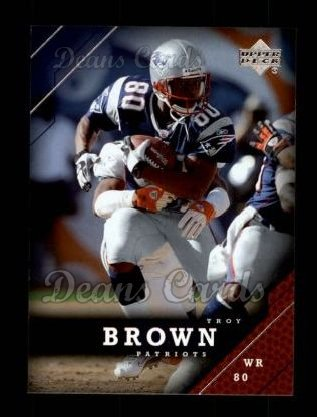 2005 Upper Deck #114  Troy Brown