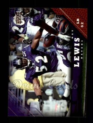 2005 Upper Deck #14  Ray Lewis