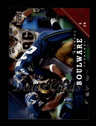 2005 Upper Deck #165  Michael Boulware