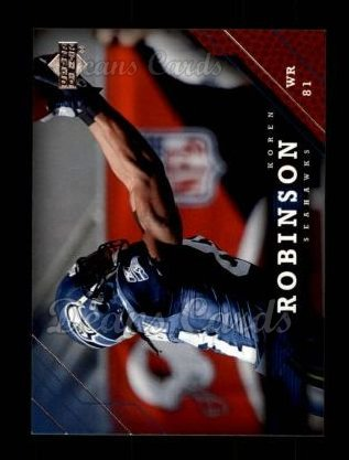 2005 Upper Deck #167  Koren Robinson