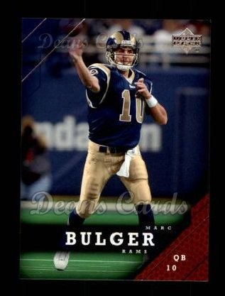 2005 Upper Deck #169  Marc Bulger