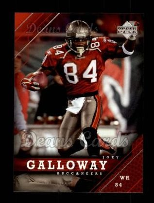2005 Upper Deck #177  Joey Galloway
