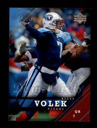 2005 Upper Deck #182  Billy Volek