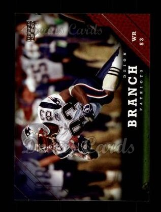 2005 Upper Deck #192  Deion Branch