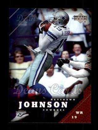 2005 Upper Deck #51  Keyshawn Johnson