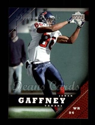 2005 Upper Deck #76  Jabar Gaffney