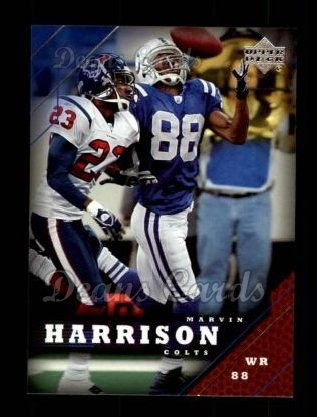 2005 Upper Deck #81  Marvin Harrison