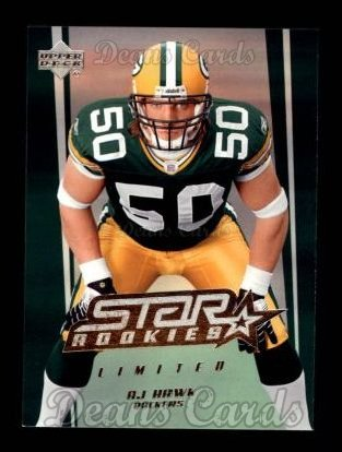 2006 Upper Deck #201  A.J. Hawk