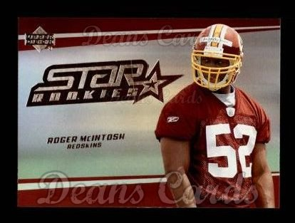 2006 Upper Deck #272  Rocky McIntosh