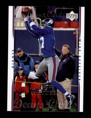2007 Upper Deck #124  Plaxico Burress