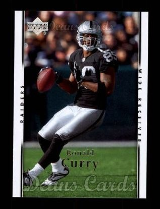 2007 Upper Deck #139  Ronald Curry