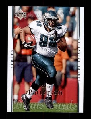 2007 Upper Deck #142  Mike Patterson