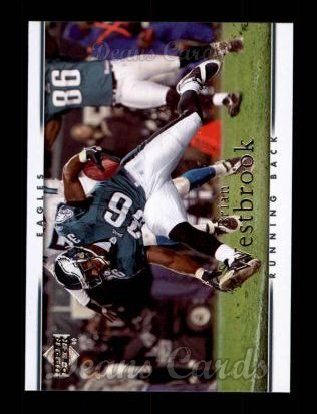 2007 Upper Deck #143  Brian Westbrook