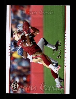 2007 Upper Deck #160  Arnaz Battle