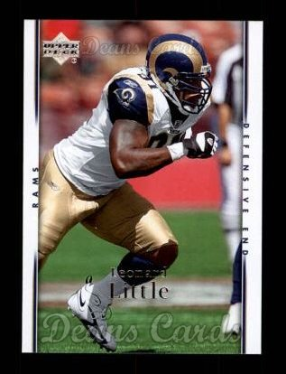 2007 Upper Deck #173  Leonard Little