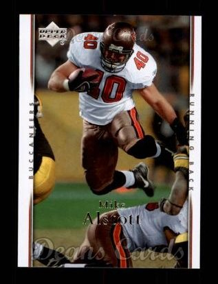 2007 Upper Deck #182  Mike Alstott