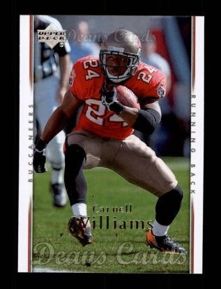 2007 Upper Deck #184  Cadillac Williams