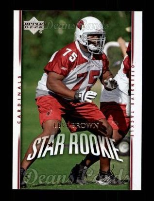 2007 Upper Deck #201  Levi Brown