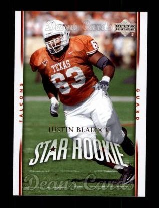 2007 Upper Deck #205  Justin Blalock