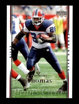 2007 Upper Deck #21  Anthony Thomas